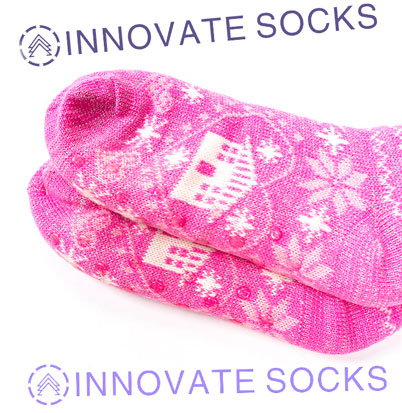 Warm Knitted Winter Home Socks<!--[