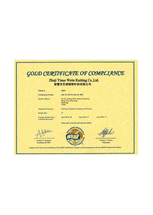 certificate certificates honor wrap innovate