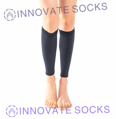 Medical Open Toe Toeless Knee High Compression Socks-1<!--[