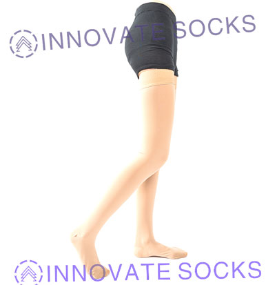 Thigh High Medical Compression Socks-1