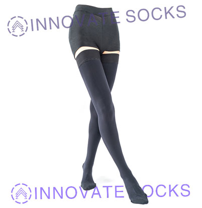 Thigh High Medical Compression Socks-2