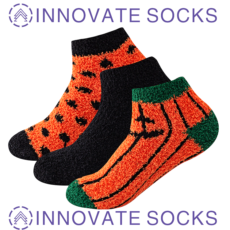 Christmas Fleece Warm Indoor Socks