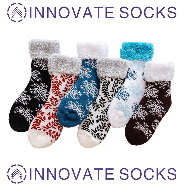 Winter Socks Thick Velvet Warm Floor Home Sleep Socks